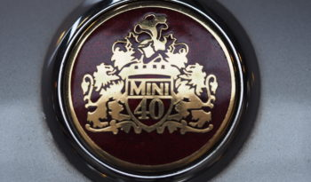 MINI COOPER 40 YEARS EDITION 1999 – Vendue full