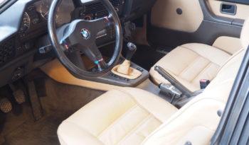 BMW 635 CSI 1983 – Vendue complet