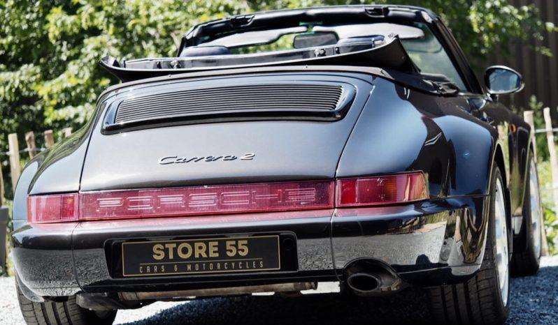 Porsche 964 Carrera 2 WTL Cabriolet 1993 – Vendue complet