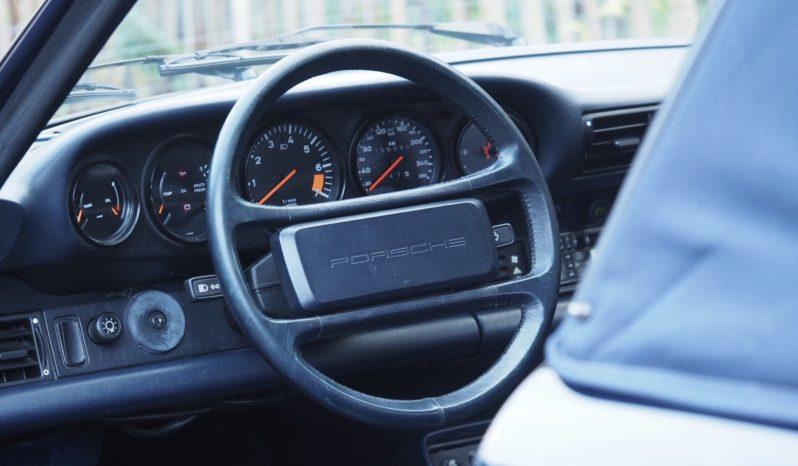Porsche 911 Carrera 3.2 915 Cabriolet 1986 – Vendue complet