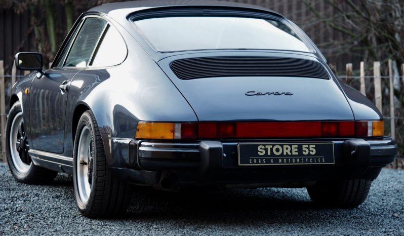 Porsche 911 Carrera 3.2 G50 1988 – Vendue complet