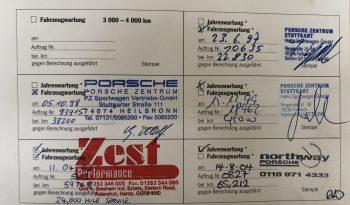 Porsche 993 Carrera 4 1995 – Vendue full