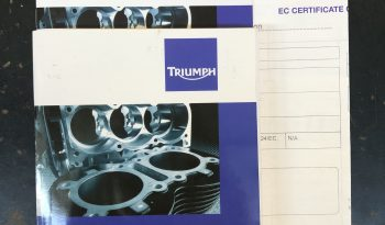 Triumph Thunderbird Storm 1700 2013 – Vendue complet