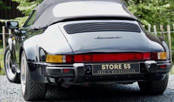 Porsche 911 3.2 Speedster TLU G50 1989 – Vendue complet