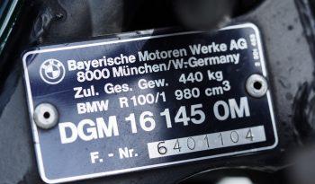 BMW R100 RT CAFE RACER 1985 – Vendue complet