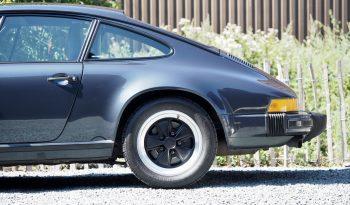 Porsche 911 Carrera 3.2 Coupé G50 1987 – Vendue complet