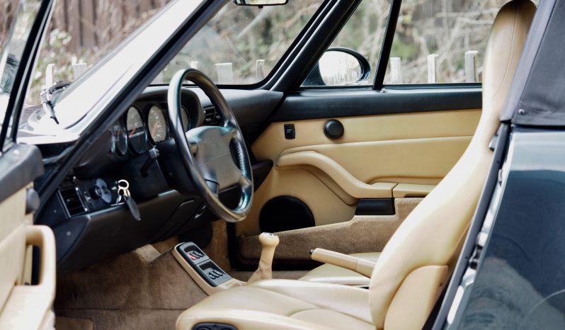 Porsche 993 Carrera 2 Cabriolet 1994 – Vendue complet