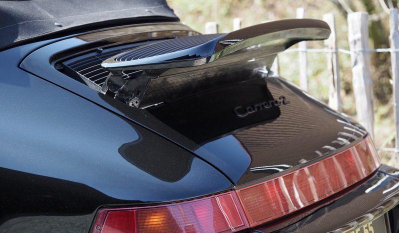 Porsche 964 Carrera 2 Cabriolet phase II 1992 – Vendue complet