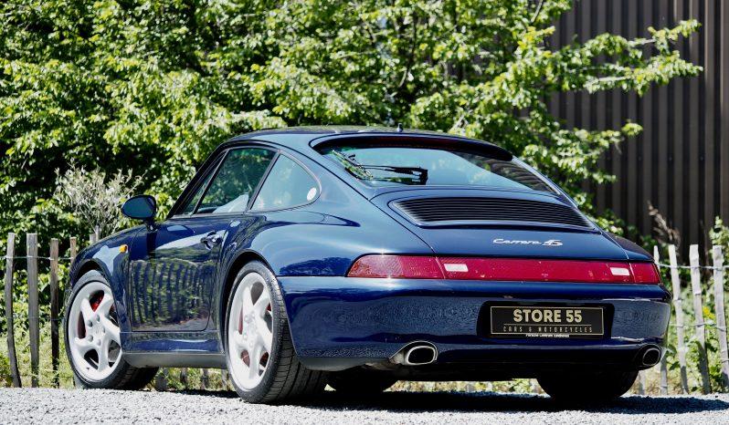 Porsche 993 Carrera 4S Varioram 1996 – Vendue complet