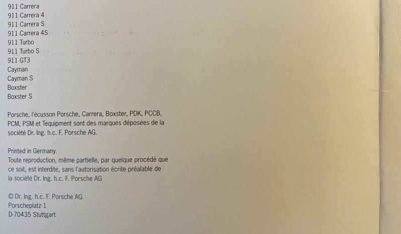 Porsche 991.1 Carrera 3.8 PDK 50 Jahre Edition Nr.1132 – 2014 – Vendue complet