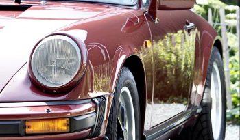 Porsche 911 Carrera 3.2 Boite 915 1986 – Vendue complet