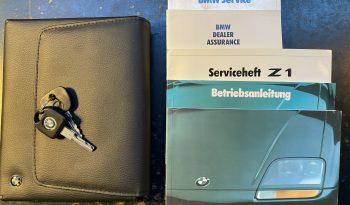 BMW Z1 2.5 1990 – Vendue complet