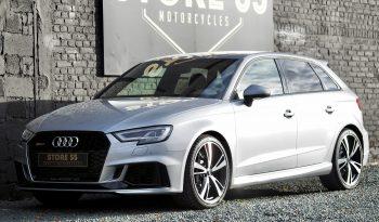 Audi RS3 Quattro Sportback 2.5 TFSI 400Cv – 2019 – Vendue complet