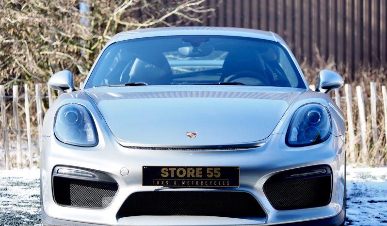 Porsche 981 Cayman GT4 Clubsport * Porsche Approved * 2016 – Vendue complet