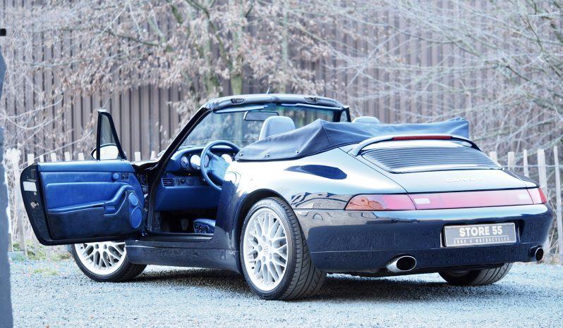 Porsche 993 Carrera 4 Cabriolet Varioram 1997 – Vendue complet