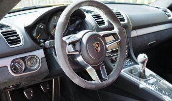 Porsche 981 Cayman 3.8 GT4 Clubsport Ceramic 2015 – Vendue complet