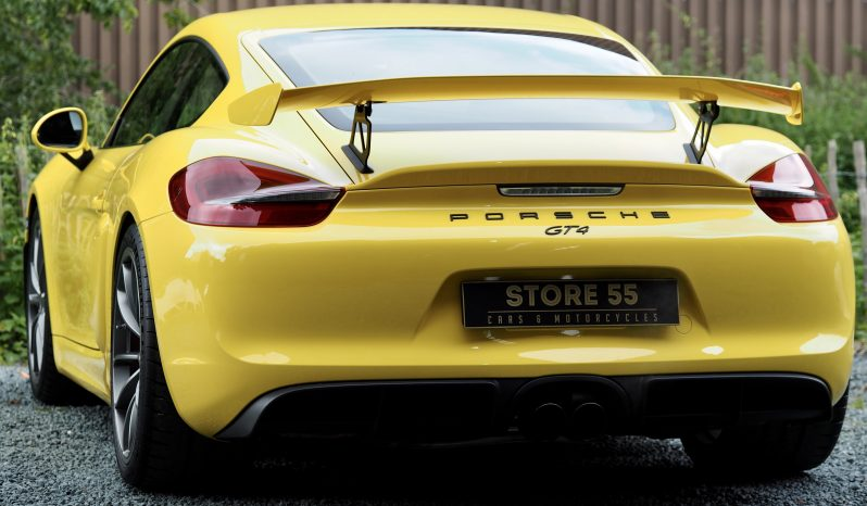 Porsche 981 Cayman 3.8 GT4 Clubsport – 2016 complet