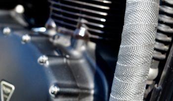 Triumph Bonneville T100 Black Scrambler 2008 – Vendue complet